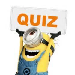 Despicable Me Minion Quiz