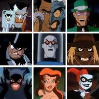 Batman the Animated Series Villains Part 1 / geeking ...