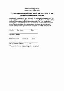 top 14 assignment of benefits form templates free to With assignment of benefits form template