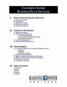 how to write a resume for retail clothing line business plan template free free business