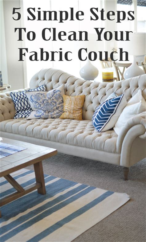 how to clean your sofa 5 simple steps to clean your chair or sofa making diy fun