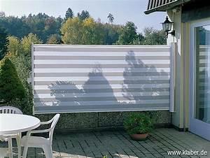 Kunststoffdielen Für Terrasse Und Balkon : luxus sichtschutz ausziehbar 4 m einzigartige ideen zum ~ Articles-book.com Haus und Dekorationen
