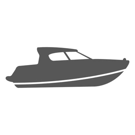 Boat Icon Png White by Passenger Speedboat Icon Transparent Png Svg Vector