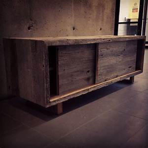 Modern Rustic Credenza - Rustic - Buffets And Sideboards ...