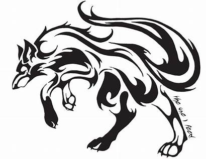 Tribal Tattoos Wolves Clipart Clipartbest Wolf Tattoo