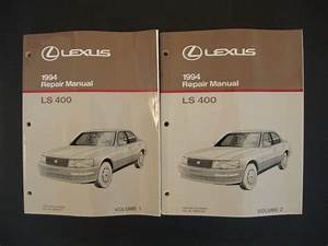 Buy 1994 Lexus Ls 400 Service Repair Manual Oem
