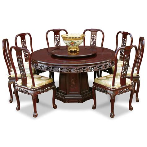 centerpiece for round dining table round dining table for 8 with chinese ware centerpiece and
