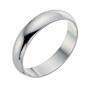 9ct white gold 4mm wedding ring ernest jones With ernest jones wedding rings
