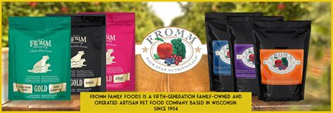 fromm pet food  dogs cats  sale healthypets