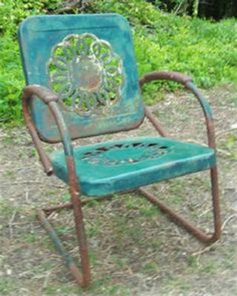 1000 ideas about vintage metal chairs on