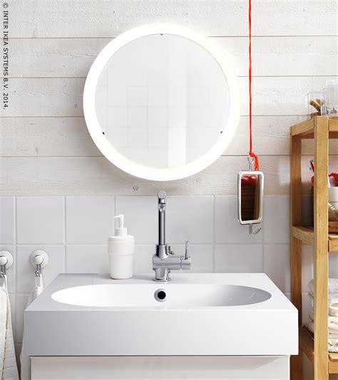 Ikea Badspiegel Storjorm by Storjorm Spiegel M Ge 239 Ntegreerde Verlichting Wit 47 Cm