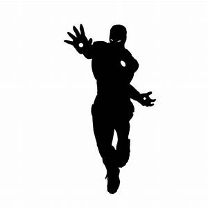 100 Photos Silhouettes 14 réponse de niveau: IRON MAN