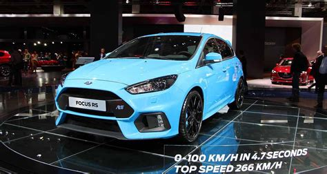 ford focus rs prix ford focus rs les performances et le prix officiels