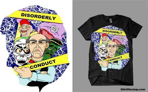 Jeff Dunham T-shirt Tour Design, Please Vote! By Beinkinu On Deviantart