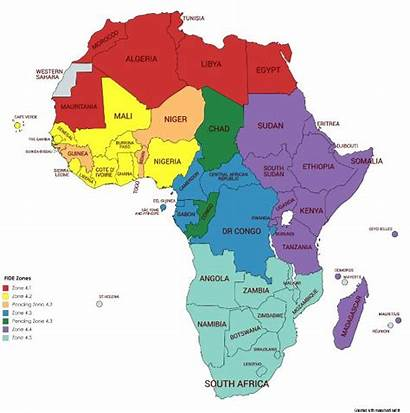 Zone Africa Map African Gets Zones