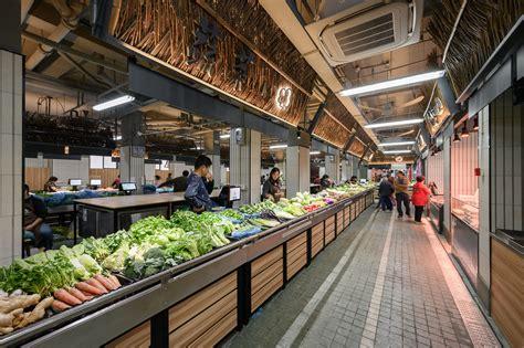 Gallery of Mengxi Food Market of Julu Foods Group / Roarc ...
