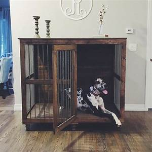 Best 25 dog crate furniture ideas that you will like on for Cheap dog crate furniture