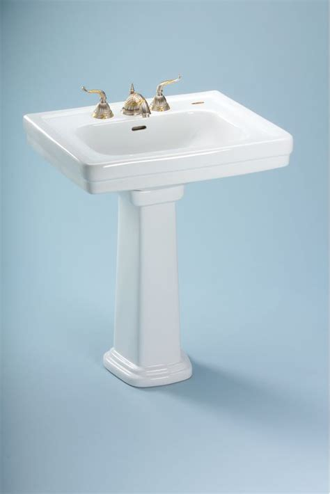 toto promenade pedestal sink 27 faucet lpt530 8n 12 in sedona beige by toto