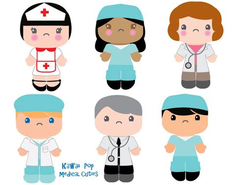 Pencil And In Color Suit Clipart Nurse