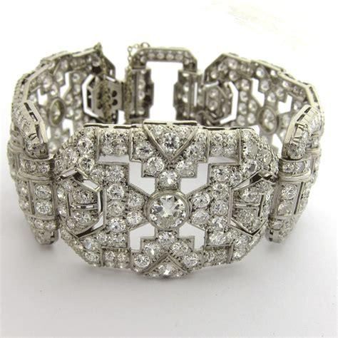 bijoux deco anciens bracelet platine diamants 132 bijou d 233 poque d 233 co bijoux anciens or
