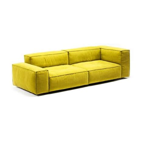 canapé cuir jaune photos canapé 2 places cuir jaune