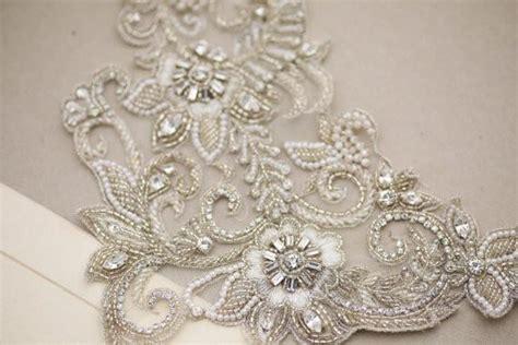 Wedding Dress Embellishment  Hera (c02) Millieicaro