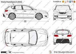Dimension Mazda 3 : the vector drawing mazda mazdaspeed3 ~ Maxctalentgroup.com Avis de Voitures