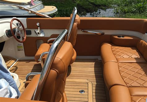 Elegantly Crafted Interior by A Few Words On The 2015 Chris Craft V Drive