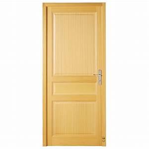 porte d39interieur bois chantilly pasquet menuiseries With porte d interieur isolante