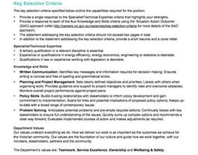 resume and selection criteria writers melbourne resume addressing selection criteria resume addressing selection criteria sle resume format