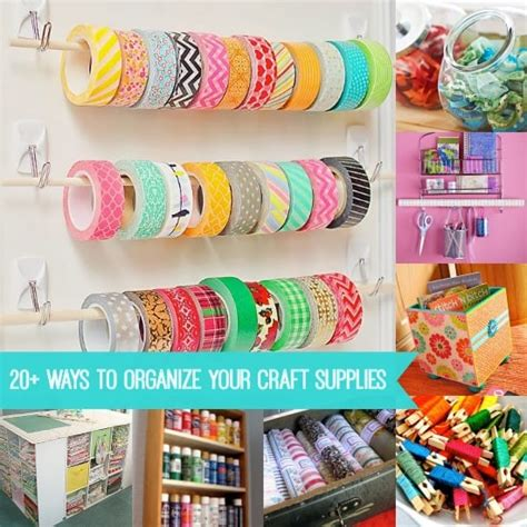 organizing your craft room on a budget vintage paint how to organize craft supplies 20 ideas diy