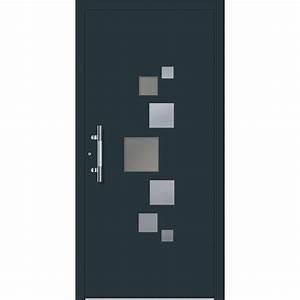 porte d39entree sur mesure en aluminium enora excellence With porte d entrée alu avec carrelage pvc salle de bain