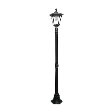 outdoor solar l post lights paradise garden lighting gl23716bk solar led high power