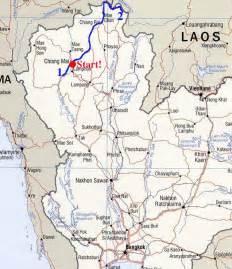 Northern Thailand Map