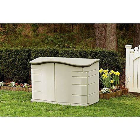 Storage Sheds Rubbermaid Horizontal Bodega Outdoor Keeping