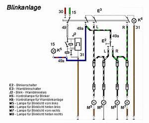 Schaltplan Blinkanlage
