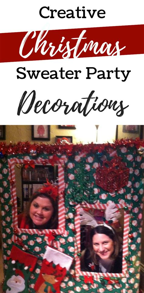 ugly christmas sweater party ideas  adults vcdiy