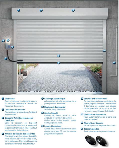 la toulousaine porte de garage enroulable porte de garage enroulable porte enroulable motoris 233 e
