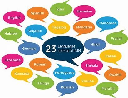 Languages Spoken Pjm Learn Want