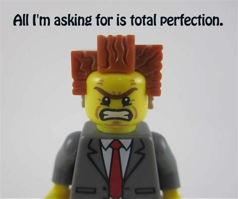 Funny Lego Memes - the lego movie quote president business all im asking for is total perfection funny boss