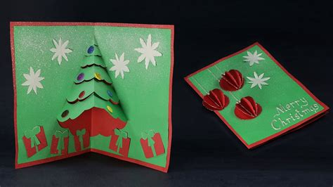 diy pop  christmas card    christmas cards