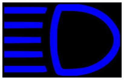 Beam Indicator Svg Beams Headlights Headlight Main