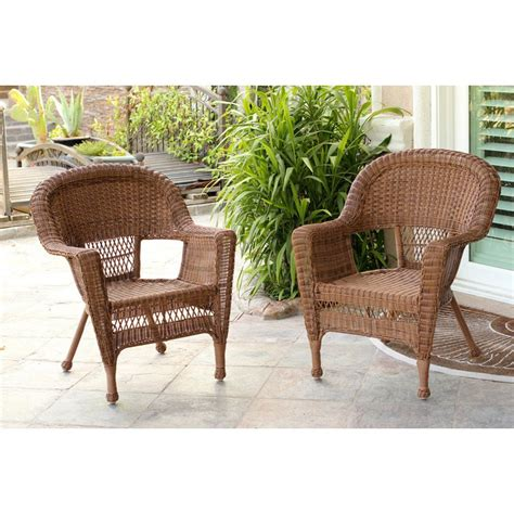 jeco wicker lounge chair outdoor lounge chairs at hayneedle