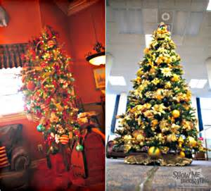 christmas tree theme show me decorating