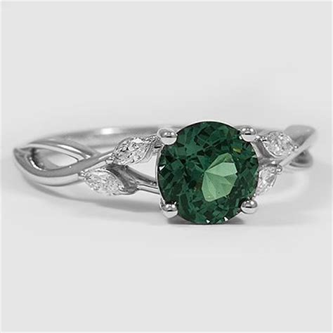 white gold emerald ring 25 best ideas about emerald rings on green