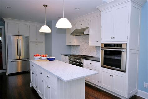White Kitchen Cupboards With Granite Countertops Best