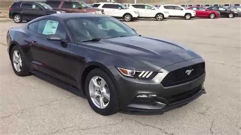 F5350210 2015 Ford Mustang V6 Grey @patirotford