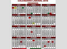 Este es calendario laboral de Granada en 2018 fiestas