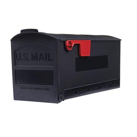 gibraltar mailboxes patriot medium post mount mailbox