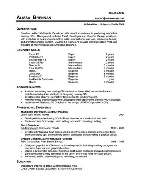 computer skills resume ingyenoltoztetosjatekok com